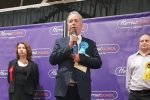 Bob Blackman MP at the count in Harrow Leisure Centre
